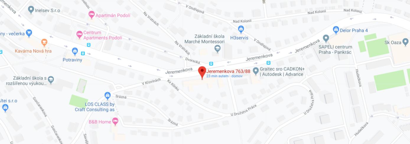 Jeremenkova 88, 140 00 Praha 4 - Podolí